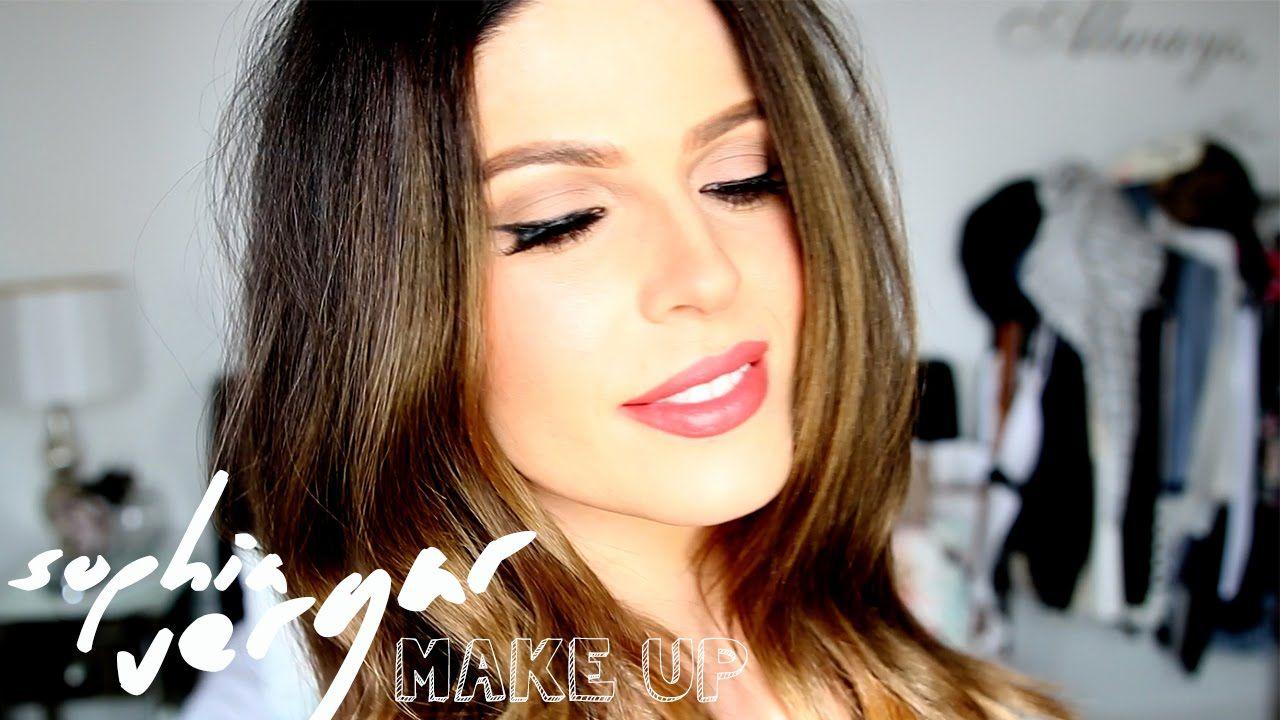 Sophia Vergara Make Up and Hair Tutorial Hair beauty