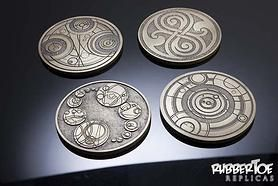 Gallifreyan Coasters Doctor Who Props By The Doctor Who Propmakers Doctor Who Gifts Gallifreyan Doctor Who