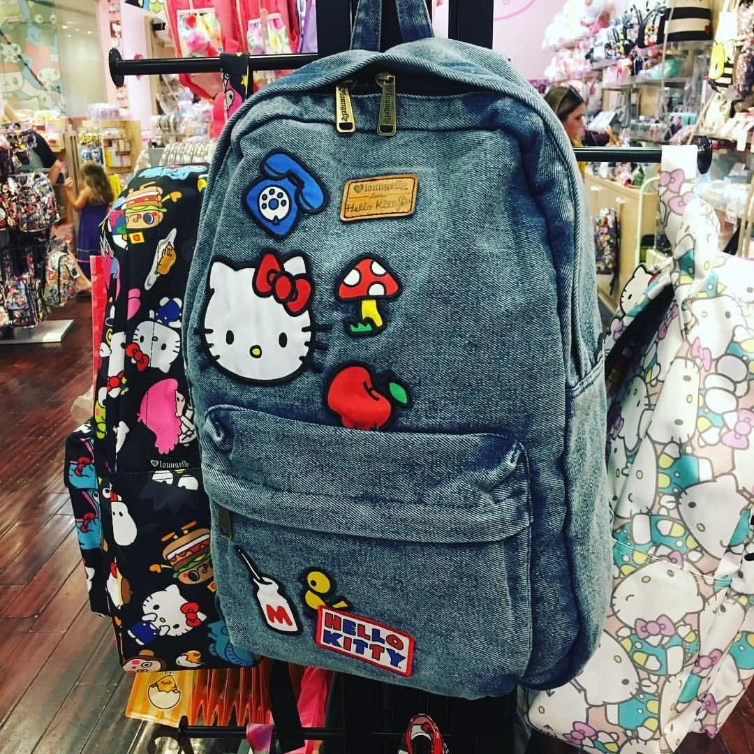 Hello Kitty Bag, Hello Kitty Items, Pretty Backpacks, Hello Kitty Backpacks,  Denim da9519790e