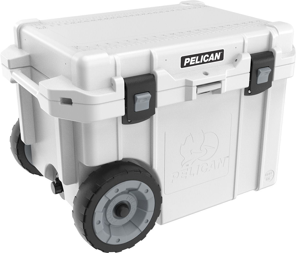 45qw Elite Wheeled Cooler In 2020 Cooler With Wheels Pelican Elite Cooler Pelican Cooler