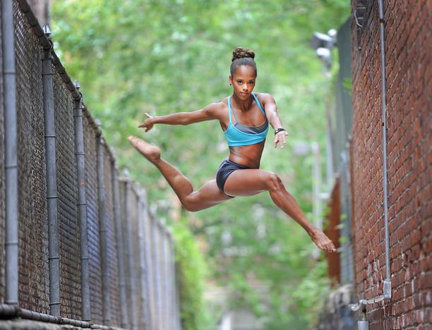 Dancer Kourtney Keitt amazing!