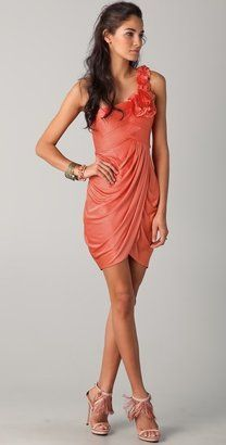 ShopStyle: Bcbgmaxazria One Shoulder Dress