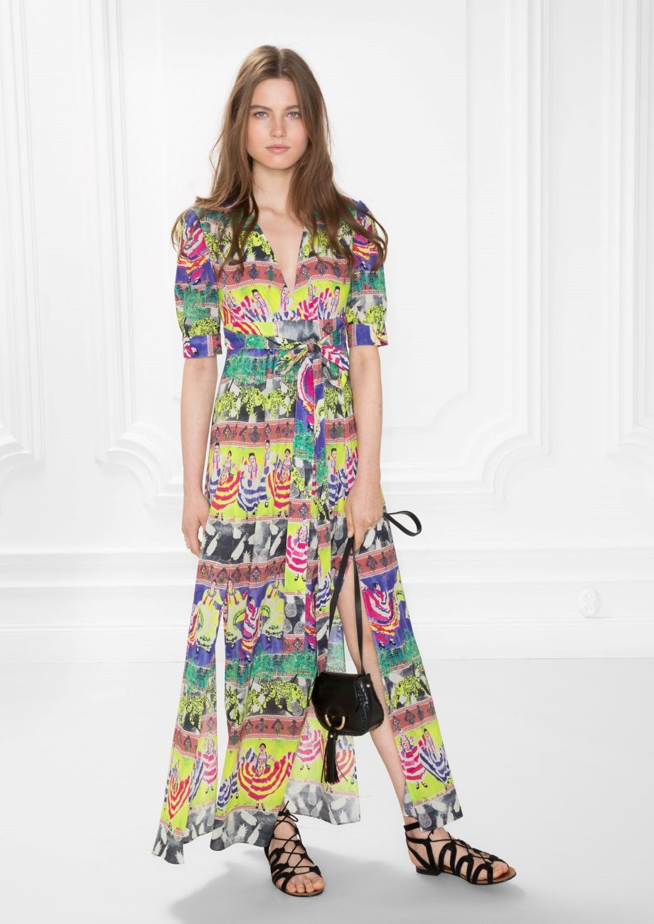 Other Stories Image 1 Of Summer Fiesta Print Dress In