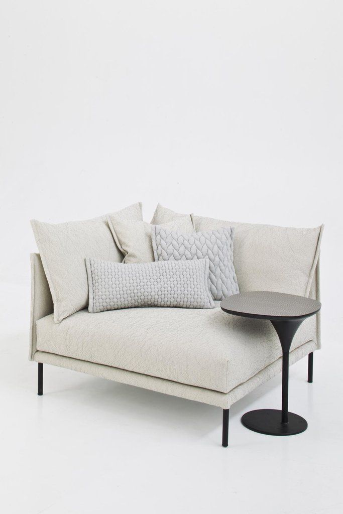 As part of its Summer 2012 line, Moroso is introducing Gentry, a sofa collection designed by Patricia Urquiola. We love the sofa's graceful arch that reaches from the back around the arms and large, soft cushions. - www.casasugar.com