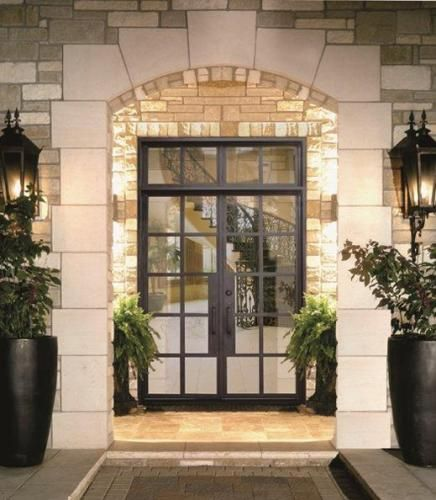 Lux-Small - Wrought Iron Doors Windows Gates Railings from Cantera Doors-Austin TX & Lux-Small Profile-225 - Wrought Iron Doors Windows Gates ...