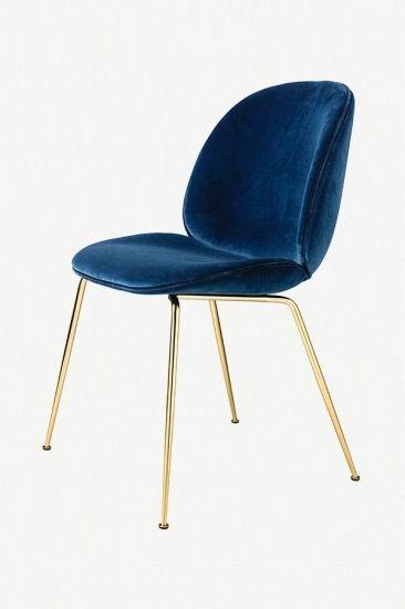 Samt Stuhl Samt Sessel Hochwertige Mobel Designer Mobel Messing Beistelltisch Modernes Design Esstisch Stuhle Wohnungseinrichtung Stil Polsterstuhl