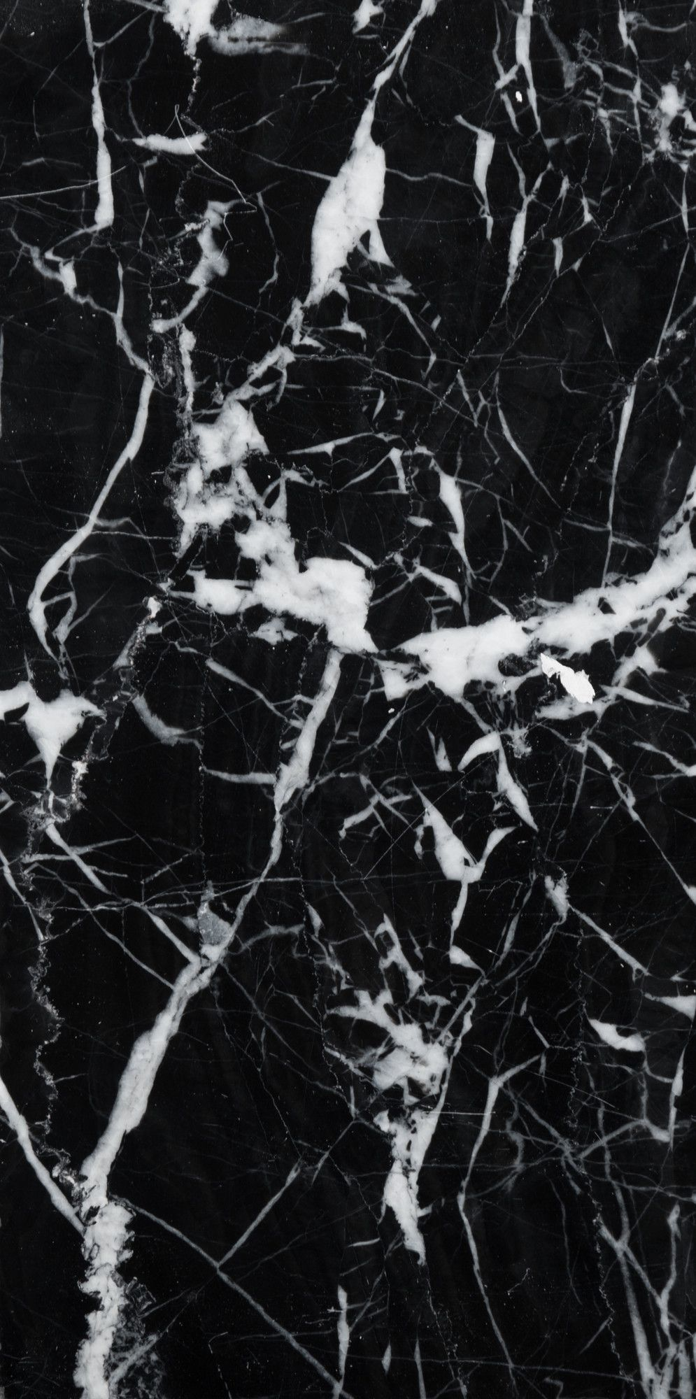 4 X 8 Marble Field Tile In Black Iphone Wallpapers
