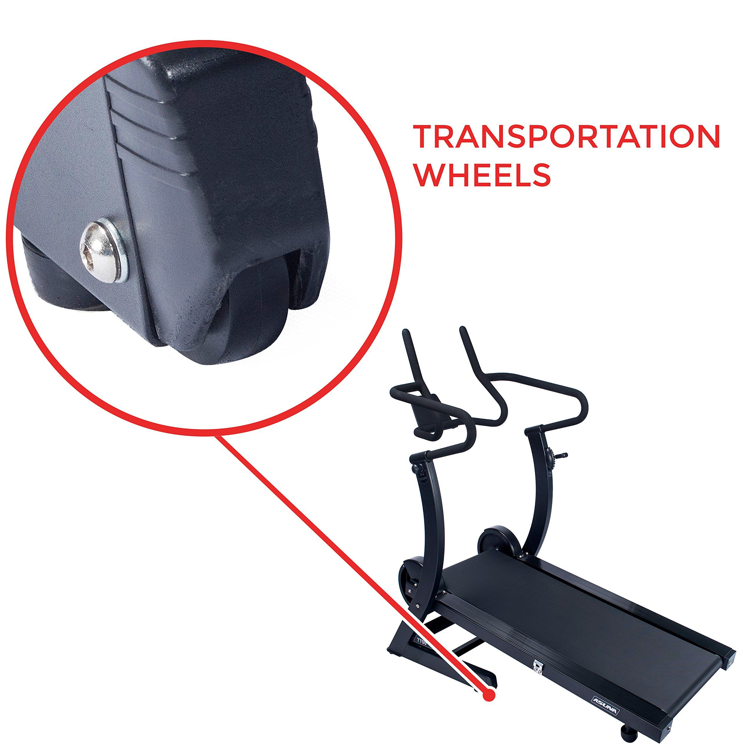 Asuna hiperformance cardio trainer self powered manual