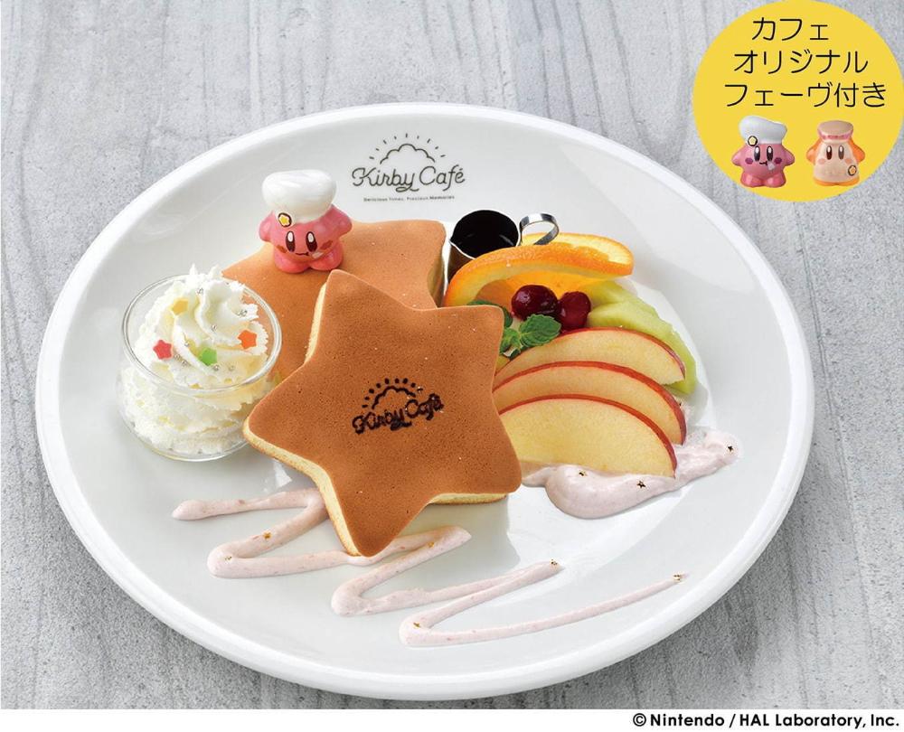 カービィカフェ が福岡 キャナルシティ博多に カービィバーガーや星形パンケーキ 限定グッズも クリエイティブフード キュートな料理 面白い食べ物