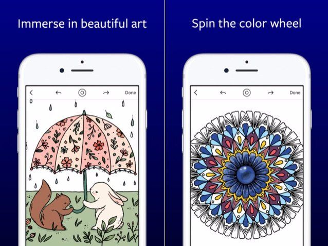 How To Use Lake Virtual Coloring Book Apple Design Award Winner Photos Business Insider Coloring Books Apple Design Coloring Apps