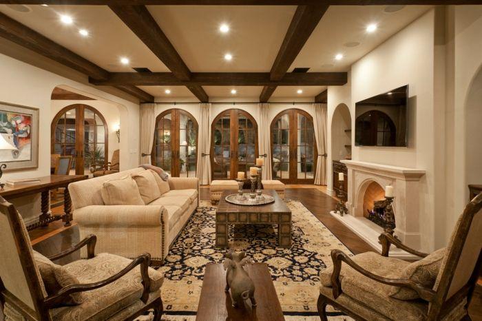 Bildergebnis für wohnzimmer landhausstil gelb | Livingroom ...