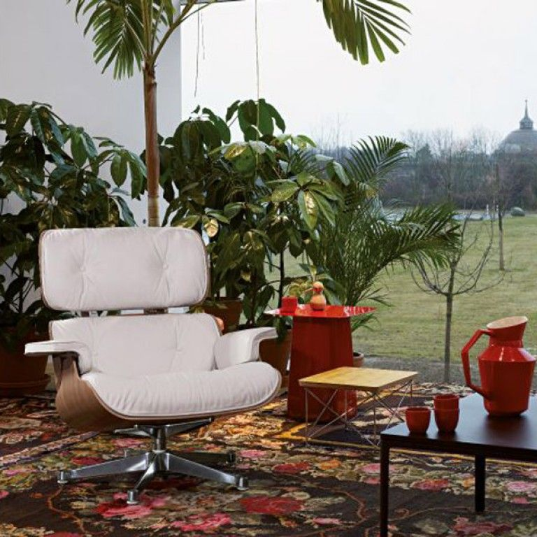 Astonishing Vitra Eames Lounge Chair Met Ottoman Fauteuil Nieuwe Theyellowbook Wood Chair Design Ideas Theyellowbookinfo