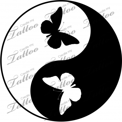 54a8ac9eff2a2 Yin Yang Butterflies Impression Textile, Yin Yang Tattoos, Prego, Quilling  Patterns, Sacred