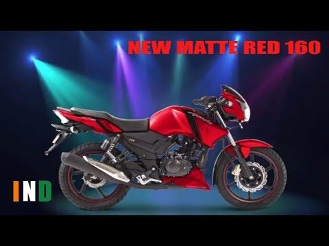 Tvsa Apache Rtr 160 Matte Red In India Tvsa Apache Rtr 160 Matte