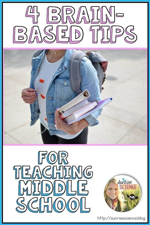4 BrainBased Tips for Teaching Middle School  Sunrise Science Blog   4 BrainBased Tips for Teaching Middle School  Sunrise Science Blog Everything for School 4 Tipps f&uu...