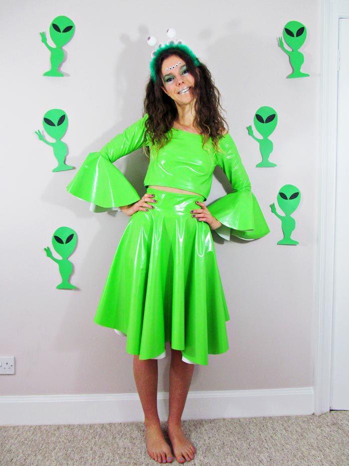 Jessthetics / DIY Alien Costume | Alien costume women ...
