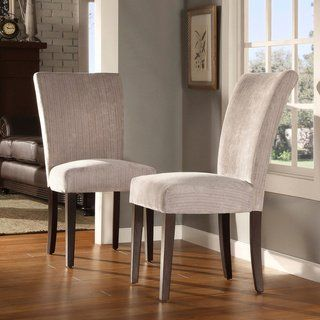 Parson Classic Upholstered Dining Chair (Set of 2) by