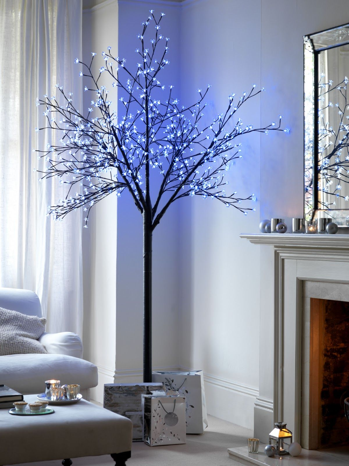 Christmas tree alternatives for when space is a challenge