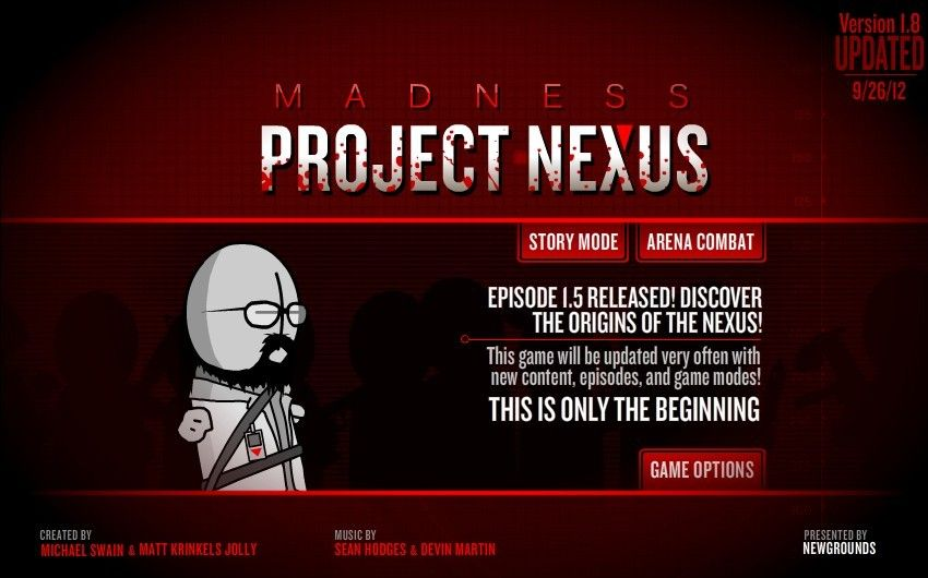Madness Project Nexus Hacked  https://sites.google.com/site/besthackedgames/madness-project-nexus
