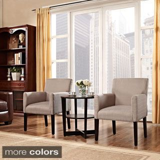 Shop For Chloe Arm Chairs Set Of 2Get Free Shipping At Adorable Overstock Living Room Chairs Design Decoration