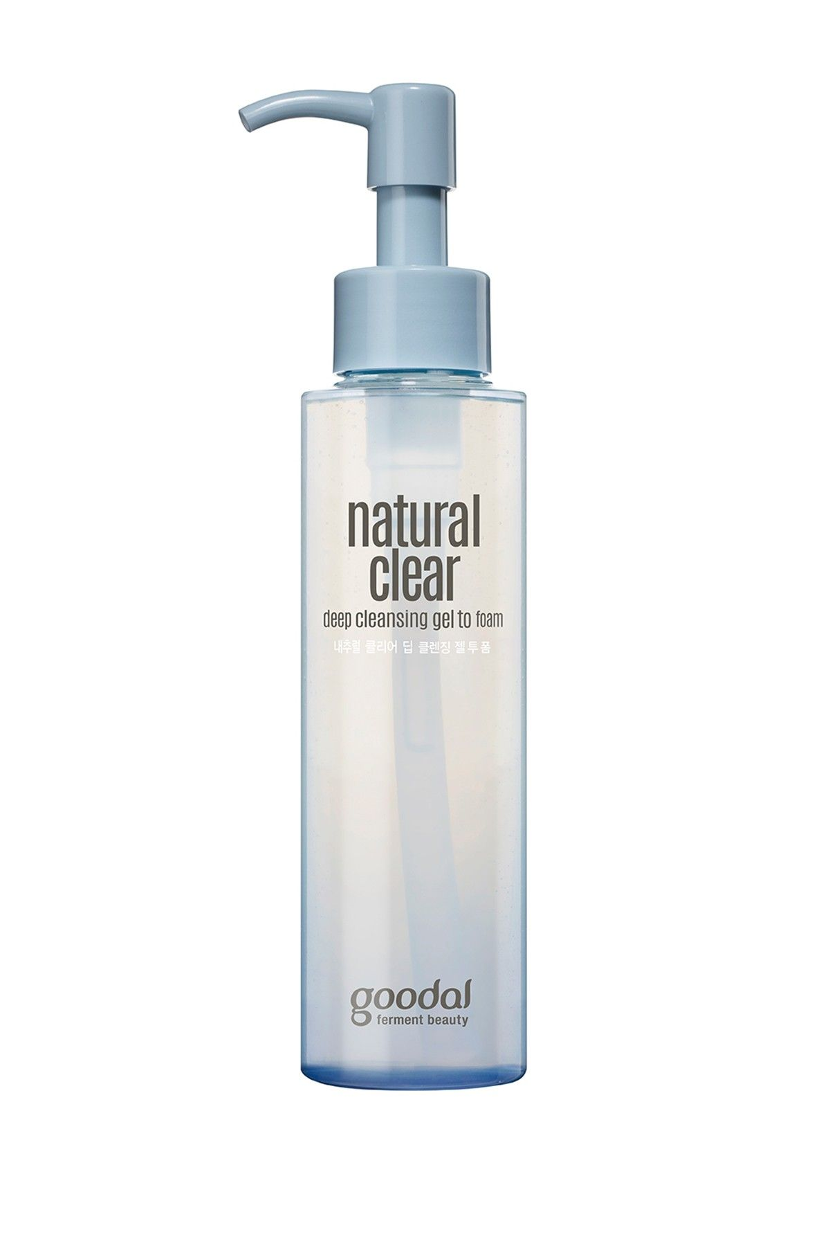 Goodal Natural Clear Deep Cleansing Gel To Foam Cleansing Gel Deep Cleansing Gel Face Wash