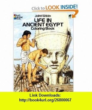 Life in Ancient Egypt Coloring Book (Dover History Coloring
