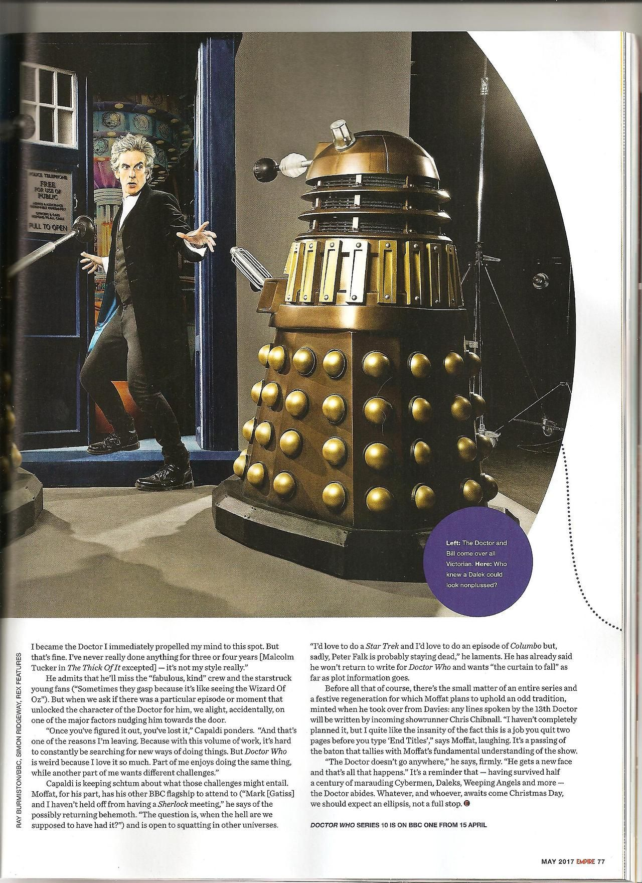 Pages from Empire magazine May 2017