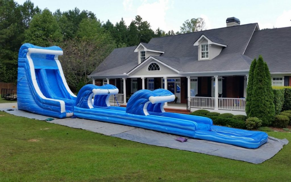 Best Backyard Water Slide (With images) | Backyard water ...