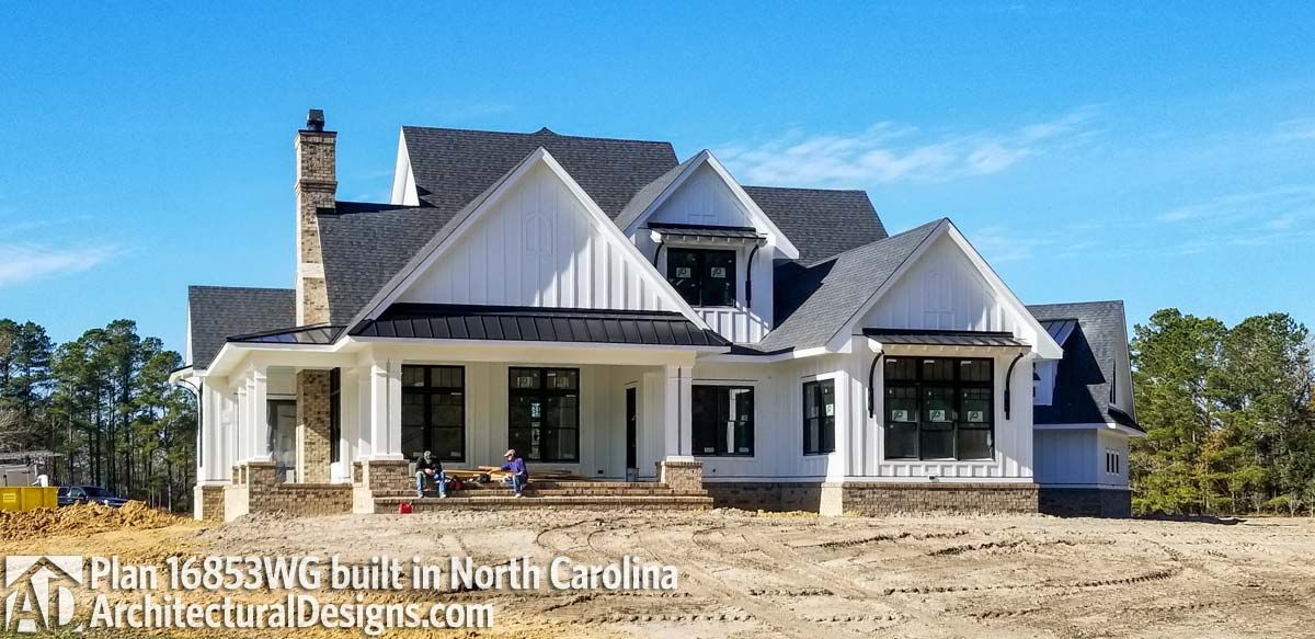 Modern Farmhouse Plan 16853WG comes to life in North
