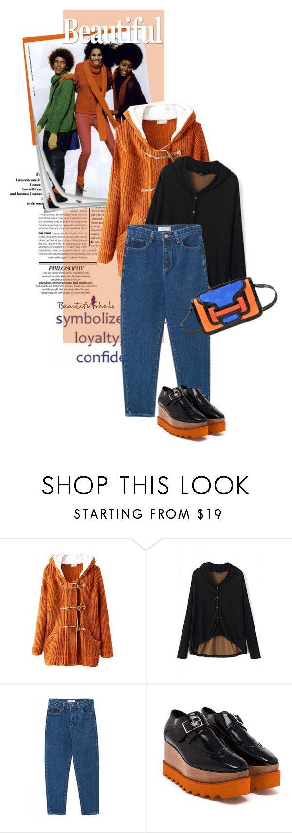 """beautifulhalo.com 6"" by meyli-meyli ❤ liked on Polyvore featuring Benetton, STELLA McCARTNEY, Pierre Hardy, women's clothing, women, female, woman, misses, juniors and beautifulhalo"