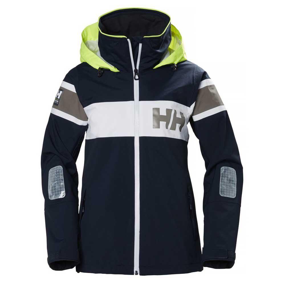 W Salt Light Jacket | Stripet Seilejakke Med HH Flagg For