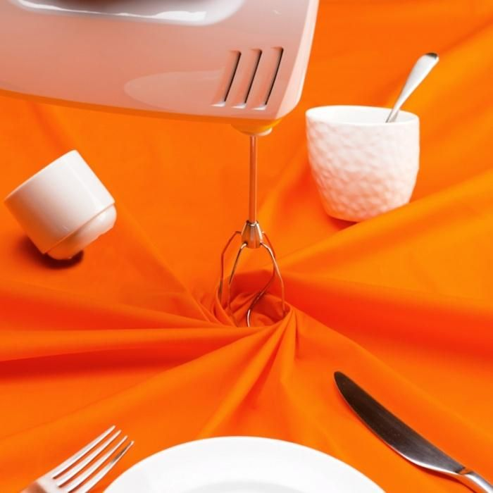 Photo of Try using this easy method of folding napkins every day or for those special events