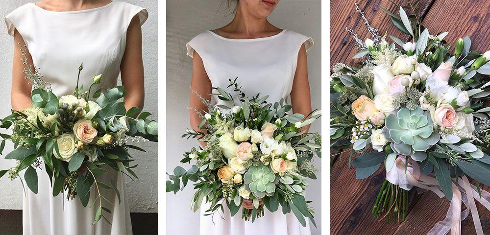 Pastelowe Kwiaty Na Slub Bukietlove Krakow One Shoulder Wedding Dress Wedding Dresses Dresses