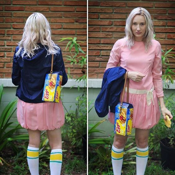 Costumes & Accessories Stranger Things Cosplay Eleven Millie Bobby Cosplay Costume El Pink Dress Sets Halloween Carnival Cosplay Women Girls Costume