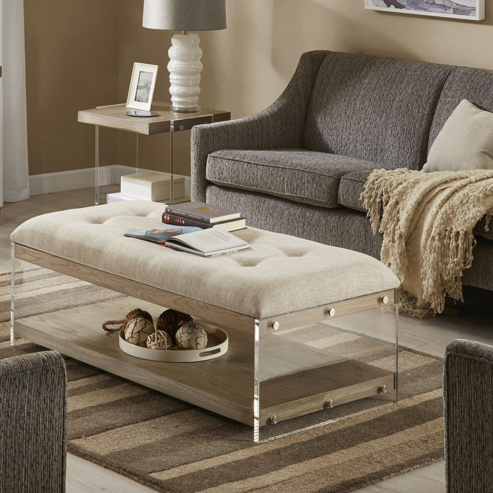 31+ Upholstered coffee table rectangle inspirations