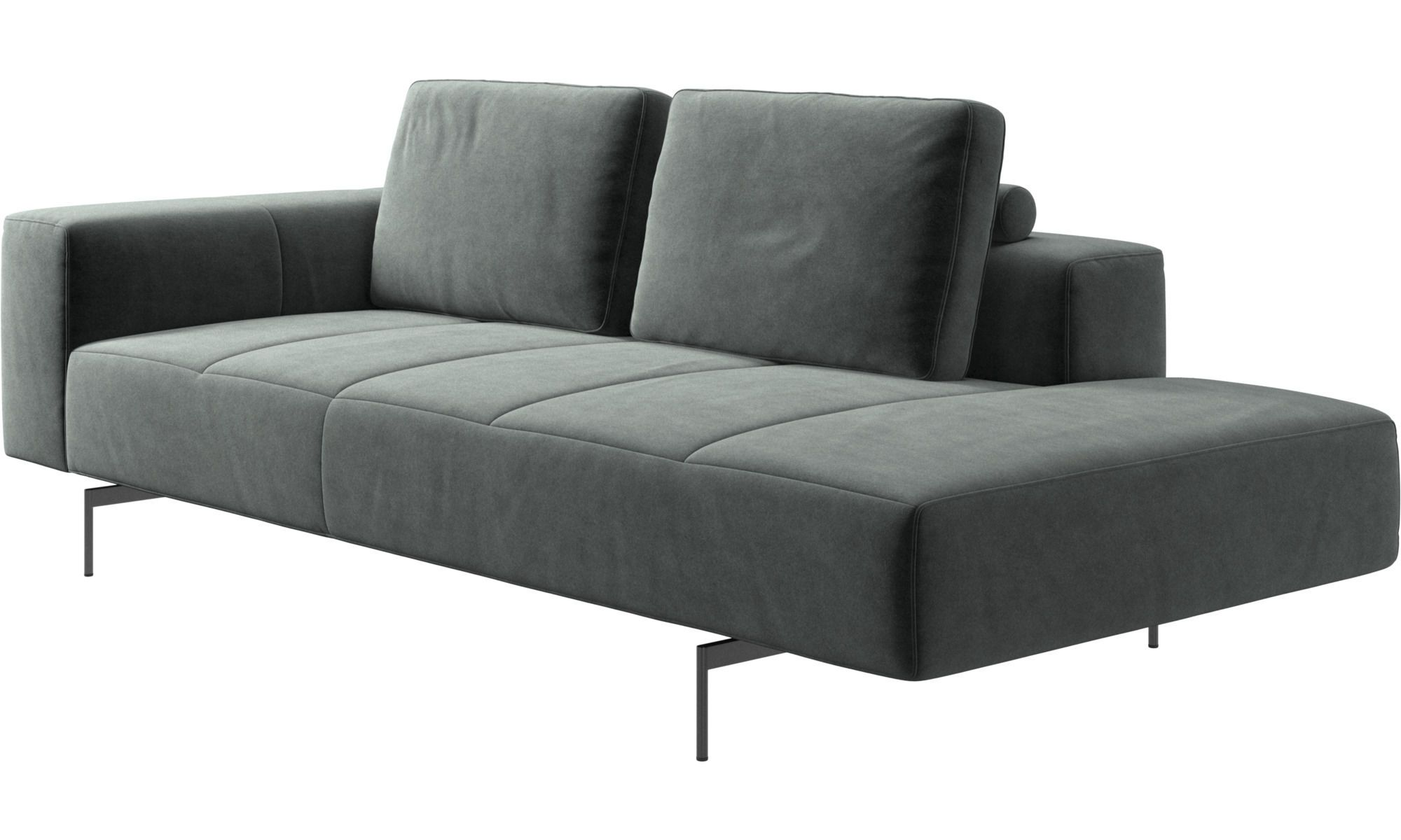 Amsterdam Corner Sofa With Lounging Unit With Images Modular Sofa L Shaped Sofa Designs Sofas For Small Spaces