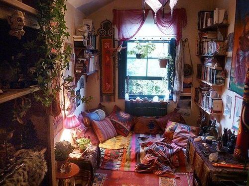 Arredamento Bohemien ~ Bohemian room big lives in small spaces pinterest interni e