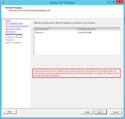 Configure IP Pools in your VMware Data Center ~ TECHCRUMBLE