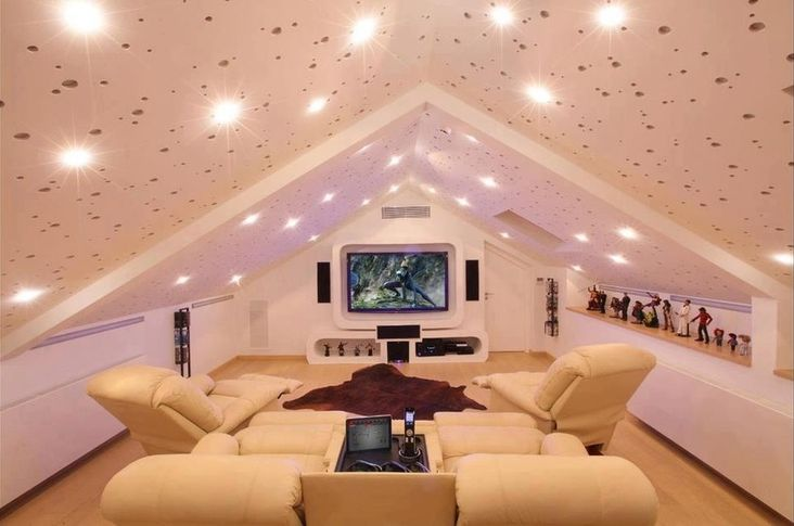 15 Simple, Elegant and Affordable Home Cinema Room Ideas | Pinterest ...