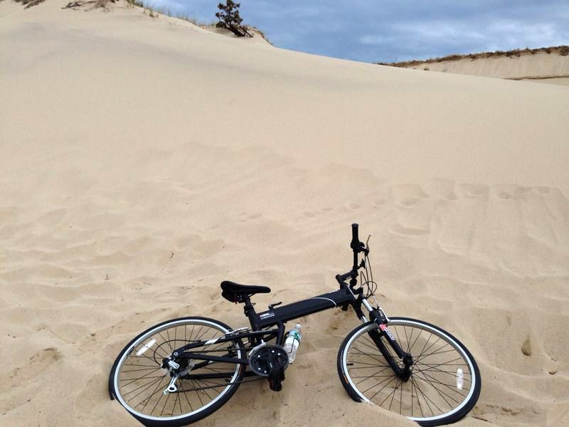 Montague X50 In The Sand Dunes