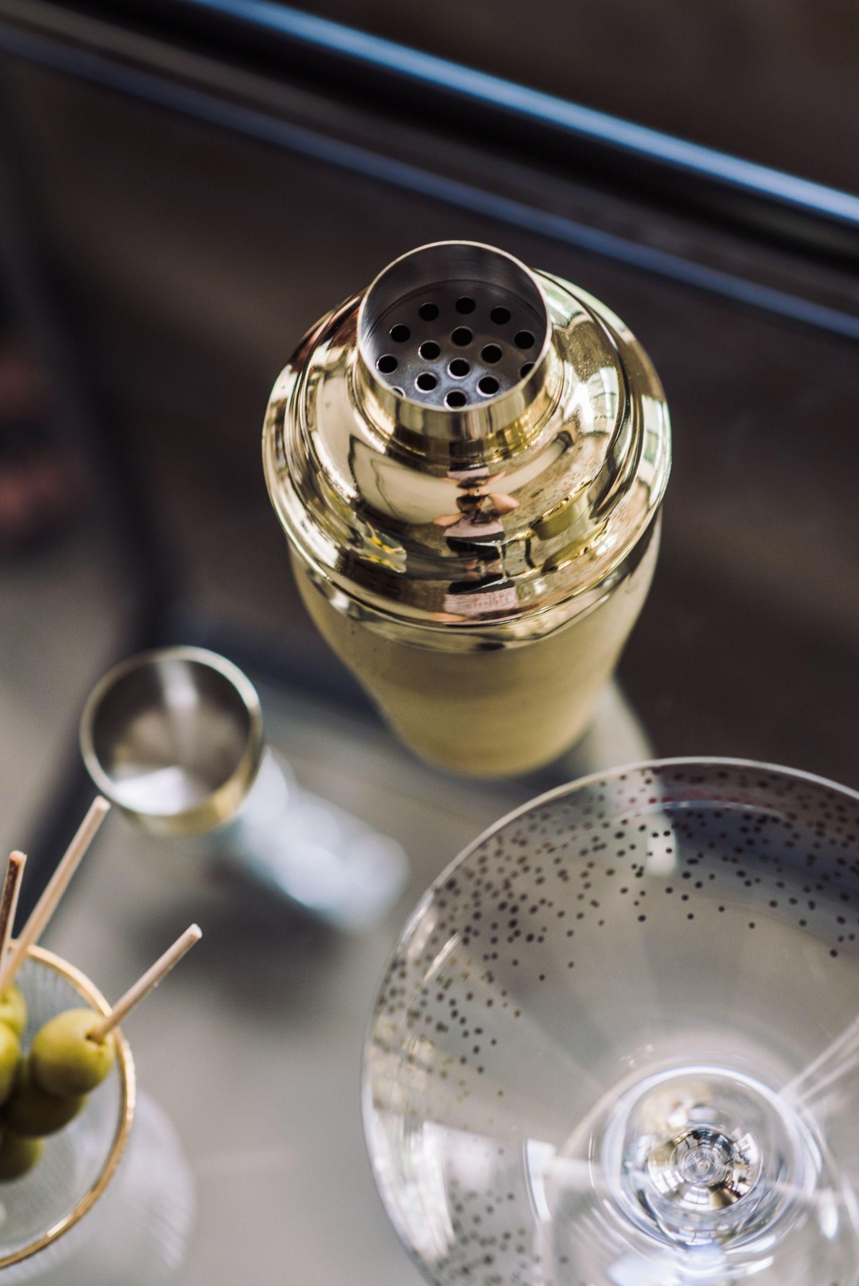 Bloomingville Cocktail-Shaker, Ø8,8x20,5cm - gold | Gold