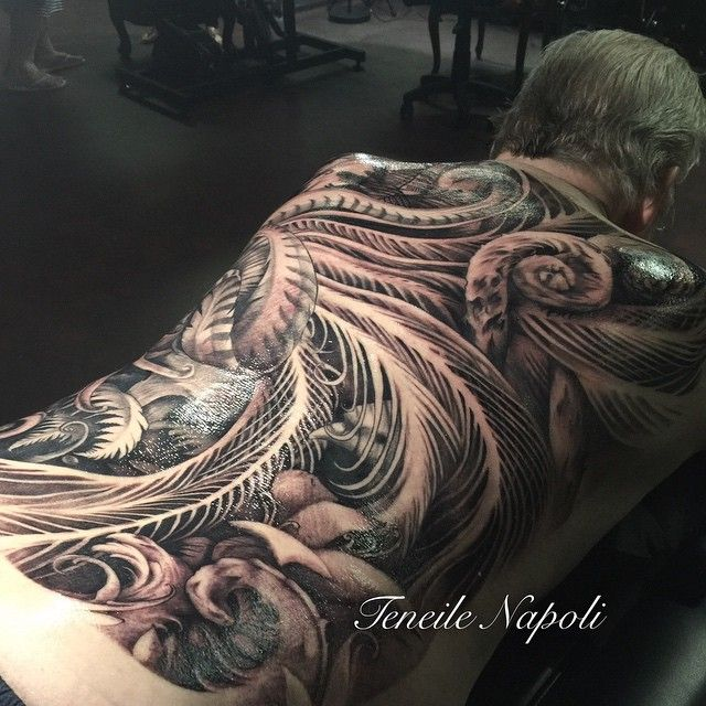 Teneile Napoli Tattoo