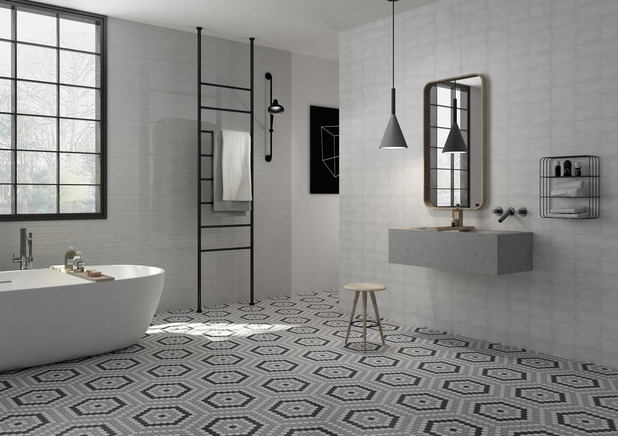 floor and decor hexagon tile floor