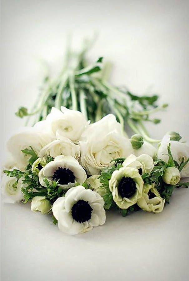 Fabuleux Bouquet de fleurs blanches et pivoines | Fleurs | Pinterest &GO_63