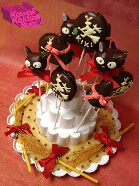 Kikis Delivery Service Cake Pop by kawaiikakkoiisugoi Ghibli