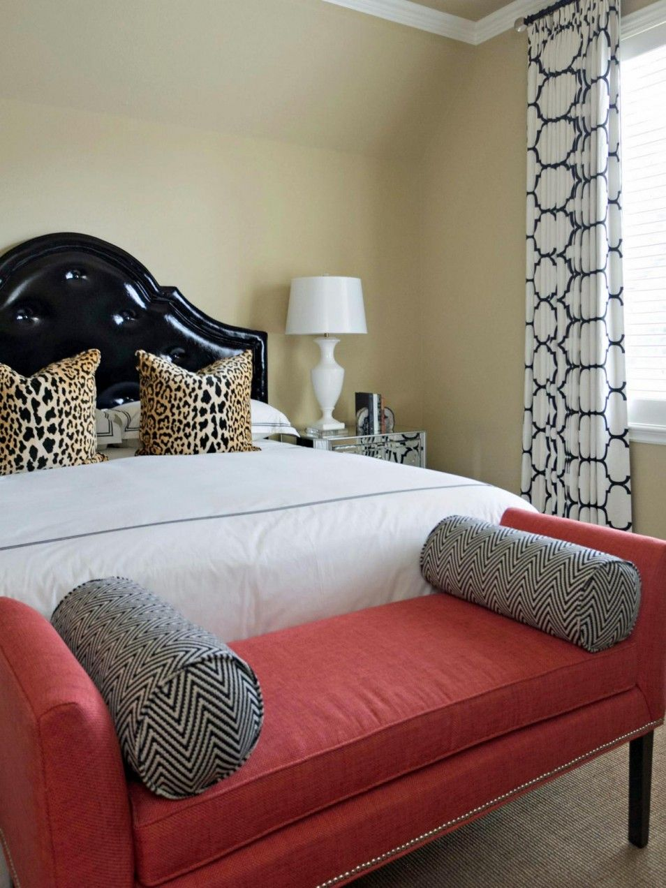 Ideas In Leopard Print Bedroom Decorating Yellow And Gray Pink Black White Bedrooms Amp