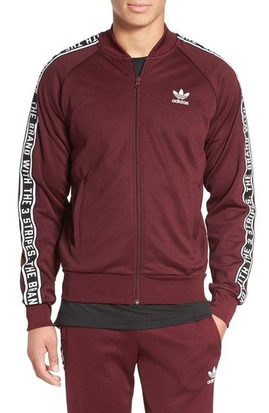 57686c02b206 ADIDAS ORIGINALS Essentials Superstar Track Jacket.  adidasoriginals  cloth