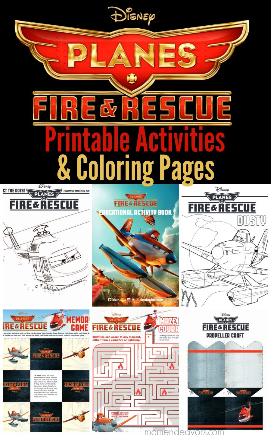 Disney Planes Fire Rescue Printable Activities Coloring Pages