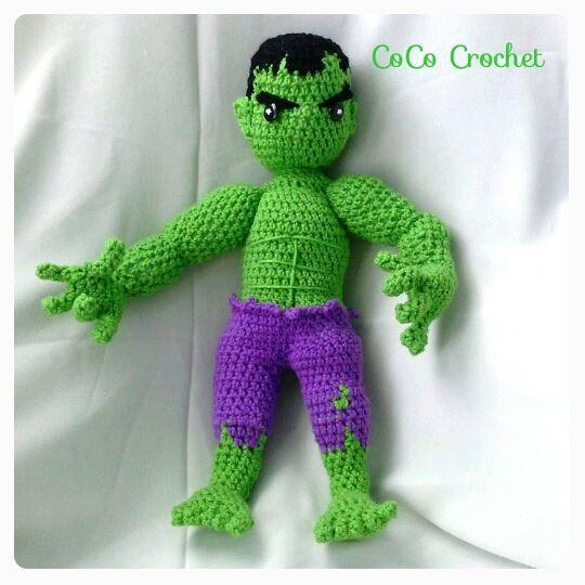 1:Hulk Amigurumi Oyuncak   Ev yapımı Marvel Toy ▷ ️ - YouTube   540x540