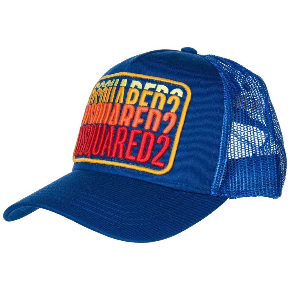 4c2b1988740 eBay  Sponsored DSQUARED2 CAPPELLO BERRETTO ADJUSTABLE ORIGINAL BLUE A4D